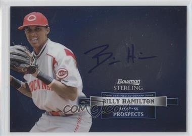 2012 Bowman Sterling Autographed Prospects #BSAP-BH - Billy Hamilton