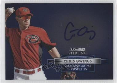 2012 Bowman Sterling Autographed Prospects #BSAP-CO - Chris Owings