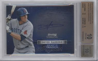 2012 Bowman Sterling Autographed Prospects #BSAP-DM - Deven Marrero [BGS 10]