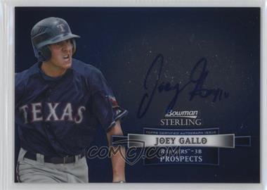2012 Bowman Sterling Autographed Prospects #BSAP-JGA - Joey Gallo