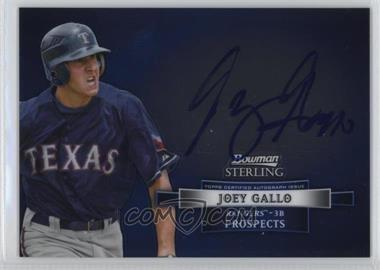 2012 Bowman Sterling Autographed Prospects #BSAP-JGA - Joey Gallo