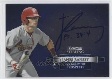 2012 Bowman Sterling Autographed Prospects #BSAP-JR - James Ramsey
