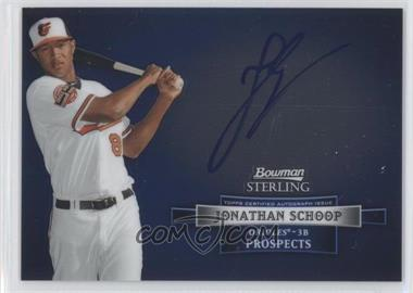 2012 Bowman Sterling Autographed Prospects #BSAP-JSC - Jonathan Schoop