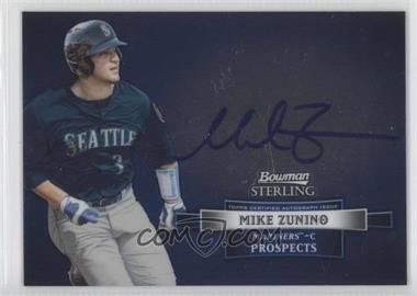2012 Bowman Sterling Autographed Prospects #BSAP-MZ - Mike Zunino