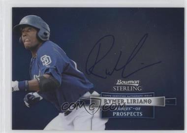 2012 Bowman Sterling Autographed Prospects #BSAP-RL - Rymer Liriano