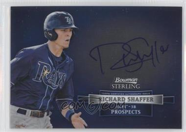 2012 Bowman Sterling Autographed Prospects #BSAP-RS - Richard Shaffer