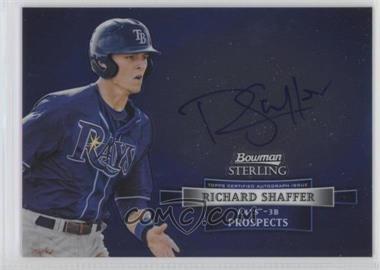 2012 Bowman Sterling Autographed Prospects #BSAP-RS - Richard Shaffer