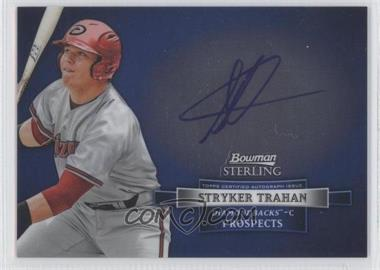 2012 Bowman Sterling Autographed Prospects #BSAP-ST - Stryker Trahan