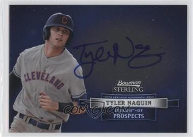 2012 Bowman Sterling Autographed Prospects #BSAP-TN - Tyler Naquin