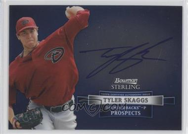 2012 Bowman Sterling Autographed Prospects #BSAP-TS - Tyler Skaggs