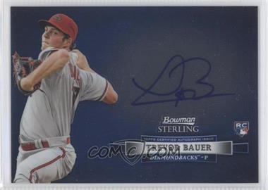 2012 Bowman Sterling Autographed Rookie [Autographed] #BSAR-TB - Trevor Bauer