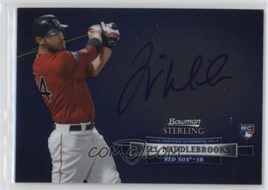2012 Bowman Sterling Autographed Rookie #BSAR-WM - Will Middlebrooks