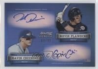 Kevin Plawecki, Gavin Cecchini /99