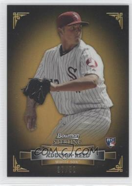 2012 Bowman Sterling Gold Refractor #13 - Addison Reed /50