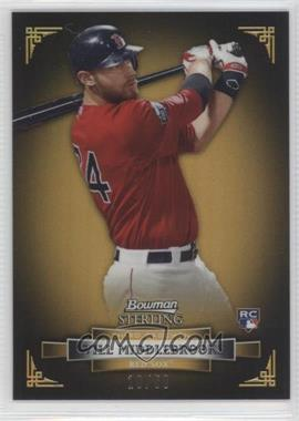 2012 Bowman Sterling Gold Refractor #50 - Will Middlebrooks /50