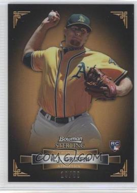 2012 Bowman Sterling Gold Refractor #6 - A.J. Griffin /50