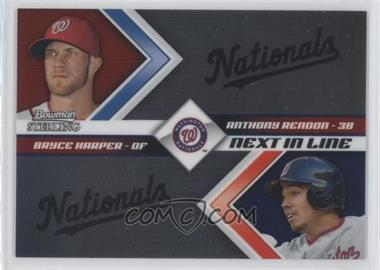2012 Bowman Sterling Next in Line #NIL3 - Bryce Harper, Anthony Rendon