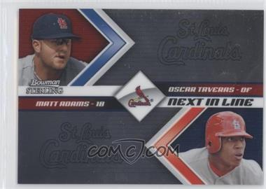 2012 Bowman Sterling Next in Line #NIL6 - Matt Adams, Oscar Taveras