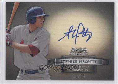 2012 Bowman Sterling Prospect Certified Autographs Black Refractor [Autographed] #BSAP-SP - Stephen Piscotty /25