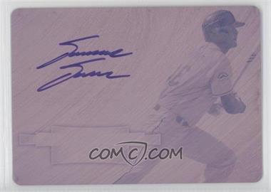 2012 Bowman Sterling Prospect Certified Autographs Printing Plate Magenta #BSAP-DD - David Dahl /1