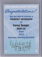 Corey Seager /199 [REDEMPTIONBeingRedeemed]
