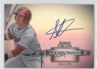 2012 Bowman Sterling Prospect Certified Autographs Refractor [Autographed] #BSAP-ST - Stryker Trahan /199