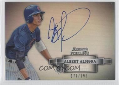 2012 Bowman Sterling Prospect Certified Autographs Refractor #BSAP-AA - Albert Almora /199