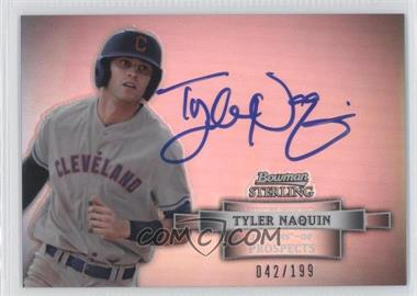 2012 Bowman Sterling Prospect Certified Autographs Refractor #BSAP-TN - Tyler Naquin /199