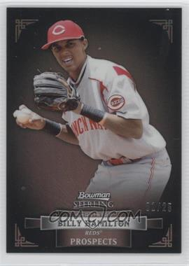 2012 Bowman Sterling Prospects Black Refractor #BSP20 - Billy Hamilton /25