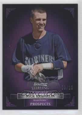 2012 Bowman Sterling Prospects Purple Refractor #BSP19 - Nick Franklin /10
