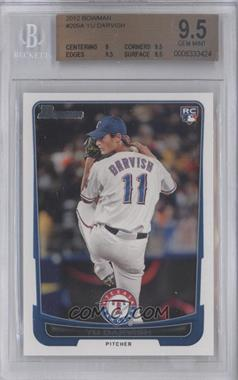 2012 Bowman #209.1 - Yu Darvish (Base) [BGS 9.5]