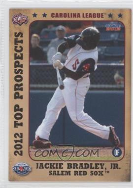 2012 Choice Carolina League Top Prospects - [Base] #07 - Jackie Bradley Jr.