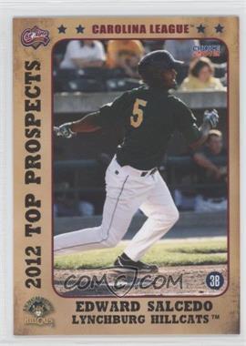 2012 Choice Carolina League Top Prospects - [Base] #10 - Edward Salcedo