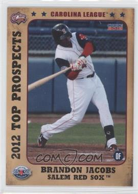 2012 Choice Carolina League Top Prospects - [Base] #11 - Brandon Jacobs
