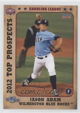 2012 Choice Carolina League Top Prospects - [Base] #14 - Jason Adam