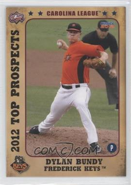 2012 Choice Carolina League Top Prospects #01 - Dylan Bundy