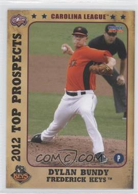 2012 Choice Carolina League Top Prospects #01 - Dylan Bundy