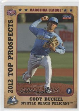 2012 Choice Carolina League Top Prospects #05 - Cody Buckel