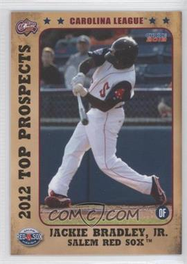2012 Choice Carolina League Top Prospects #07 - Jackie Bradley Jr.