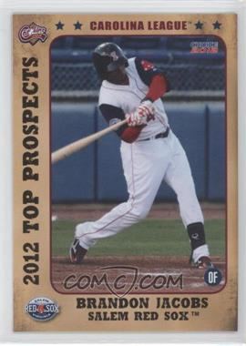 2012 Choice Carolina League Top Prospects #11 - Brandon Jacobs