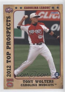 2012 Choice Carolina League Top Prospects #19 - Tony Wolters