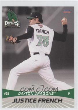 2012 Choice Dayton Dragons - [Base] #28 - Justice French