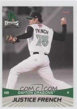 2012 Choice Dayton Dragons #28 - Justice French
