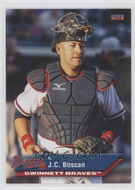 2012 Choice Gwinnett Braves - [Base] #01 - J.C. Boscan