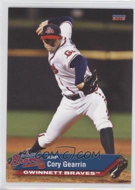 2012 Choice Gwinnett Braves - [Base] #09 - Cory Gearrin