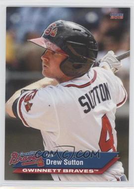2012 Choice Gwinnett Braves - [Base] #21 - Drew Sutton