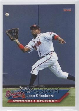 2012 Choice Gwinnett Braves #04 - Jose Constanza