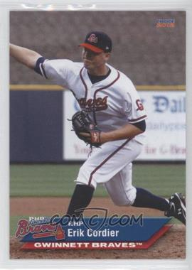 2012 Choice Gwinnett Braves #05 - Erik Cordier