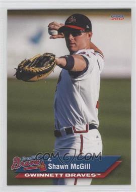 2012 Choice Gwinnett Braves #14 - Shawn McGill