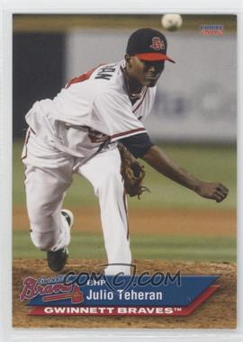 2012 Choice Gwinnett Braves #22 - Julio Teheran